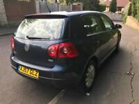VW GOLF 1.9 TDi 2007 Black 5 Door 12 MONTHS MOT Service History £1395