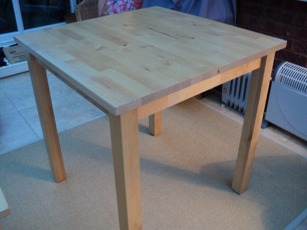 Ikea norden dining table in owlsmoor berkshire gumtree ikea norden dining table watchthetrailerfo