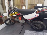 120 pit bike great condition