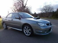2007 57 SUBARU IMPREZA 2.5 WRX 4 DOOR 1 OWNER FROM NEW