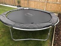 8ft trampoline.