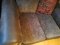 2 seats sofa and armchair