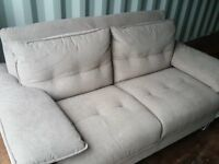 Fling DFS Large 2 seater sofa in Mink