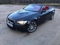 BMW M3 DCT 35K RED LEATHER SERVICED LONG MOT 2 KEYS BLACK