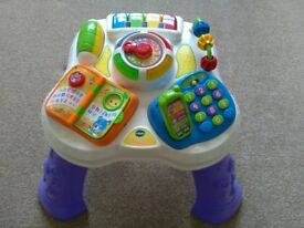 REDUCED VTECH Play & Learn Activity Table