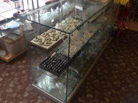 Glass Shop Display Counter with four doors
