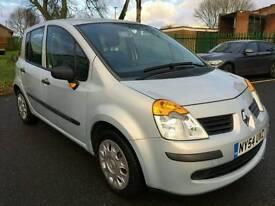 Renault modus 2005 1.4 petrol low mileage fsh full mot