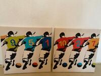 Football canvas 2 x available