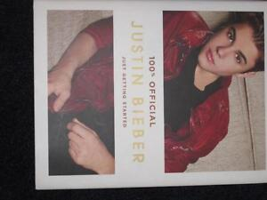 Justin Bieber book Kitchener / Waterloo Kitchener Area image 1