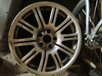 BMW E46 M3 genuine 19'' alloy wheel (spares or repairs)