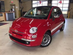 2012 Fiat 500C LOUNGE*CONVERTIBLE*CUIR*BOSE AUDIO*MAGS