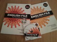 English File: Upper-intermediate Student's Book and Workbook +DVD. Third Edition.