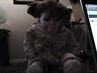 toddler/baby porcelain doll