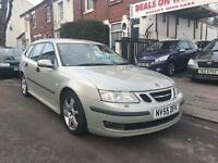 Saab 9-3 Vector Sport 2.0t. Automatic. Cruise control. Heated Full Leather Interior. Alloy Wheels