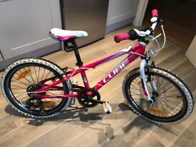 "Cube 20"" girls bike"