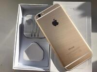 iPhone 6 64gb gold ( o2 giff gaff )