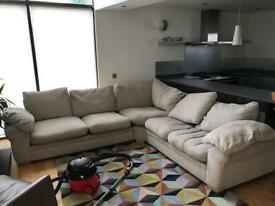 Large corner sofa / couch