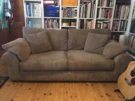Soft fabric sofa