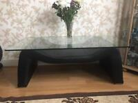 COFFEE TABLE AND TWO SOFA
