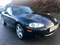 MAZDA MX5 2004, GOOD DRIVER, TOTAL BARGAIN NO OFFERS CAN DELIVER ANYWHERE AT COST