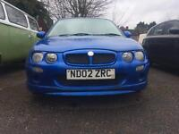 Mg Zr Body kit and front and rear bumper trophy blue
