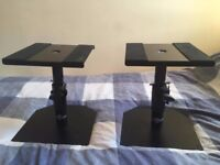 Desktop Monitor Speaker Stands - Gear4music (Pair)