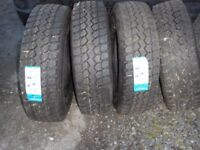 triangle tyres 235/R75/17.5 brand new x 4