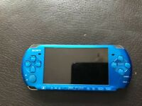 Sony PSP slim and light vibrant blue