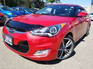 2014 Hyundai Veloster Tech-Navi-Moonroof in Great condition