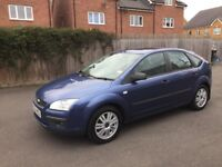 2005 reg New shape Ford Focus mot until May 2018 ,cruise control,big boot ,px welcome