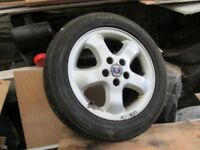 Saab /Vauxhall Alloy Wheels X 4