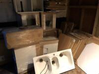 Job lot kitchen units and doors