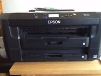 Epson Workforce WF-7110 DTW Duplex Wifi Two trays cheap inks A3/A4/A3+ Printer