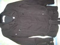 M&S LINED COTTON JACKET - SIZE 16