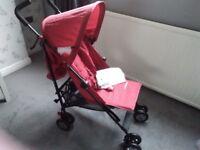 New Mothercare Nanu pushchair