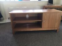 Tv stand for sale- oak effect