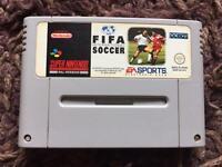 Snes Fifa international soccer Nintendo game