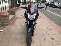 HONDA CBF 125cc JET BLACK 13 PLATE LOW MILEGA STUNNING HPI CLEAR!!