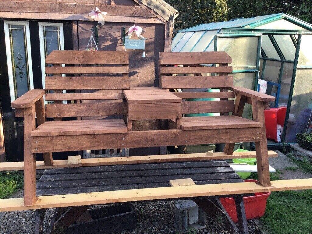 Wooden Garden Bench In Kinross Perth And Kinross Gumtree