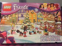 Lego Friends advent calendar 41102 BNIB