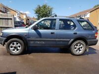 Vauxhall Frontera jeep 4x4 off road