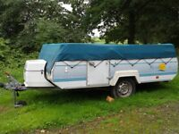 Pennine Streling Folding Caravan £1200