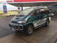 7 Seats Diesel Automatic 4x4 MITSUBISHI Delica with a MOT until 11th of December 2017