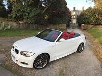 BMW 123d M Sport Convertible **Fully loaded!**