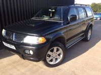 2005 Mitsubishi Shogun Sport 2.5 TD Warrior 5dr Diesel 4x4, tow Bar Finance Available, May Px