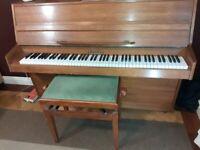 Rogers modern upright piano