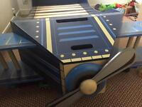 Toddlers airplane bed