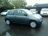 Nissan Micra 1.2 petrol Low mileage cheap to run and insurance Long mot