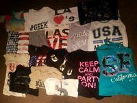 Bundle Girls Womens Tops T Shirts Clothes size 16 - Joblot