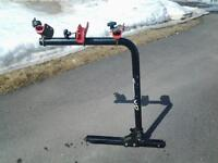 Bike rack for 3 bikes